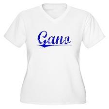 Gano, Blue, Aged T-Shirt