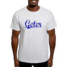 Geter, Blue, Aged T-Shirt