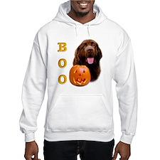 Halloween Brown Newfoundland Boo Jumper Hoody