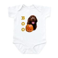Halloween Brown Newfoundland Boo Infant Creeper