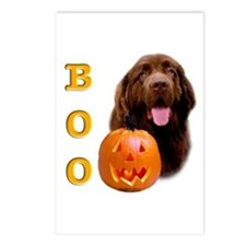 Halloween Brown Newfoundland Boo Postcards (Packag
