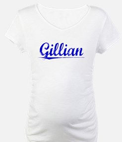 Gillian, Blue, Aged Shirt