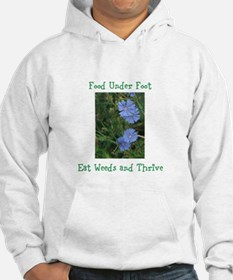 Food Under Foot Eat Weeds Chicory Hoodie