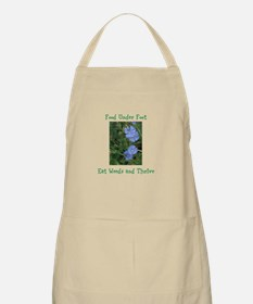 Food Under Foot Eat Weeds Chicory Apron