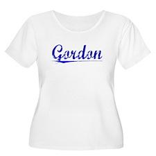 Gordon, Blue, Aged T-Shirt