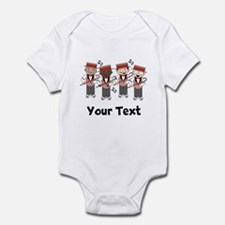 Personalized Barbershop Music Infant Bodysuit