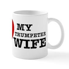 I love my Trumpeter wife Mug