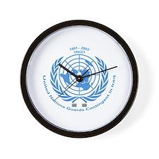 UNGCI Blue logo Wall Clock