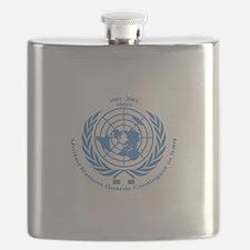 UNGCI Blue logo Flask