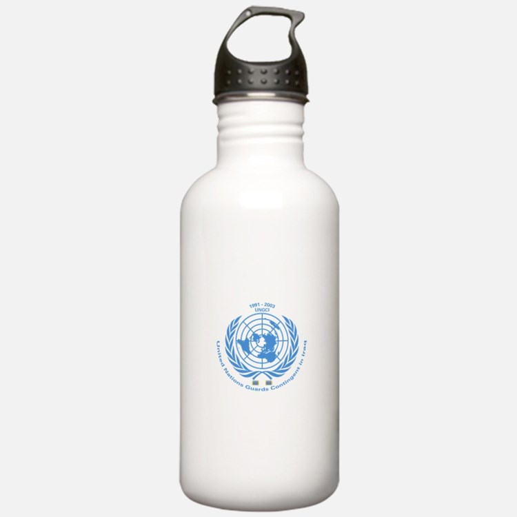 UNGCI Blue logo Water Bottle