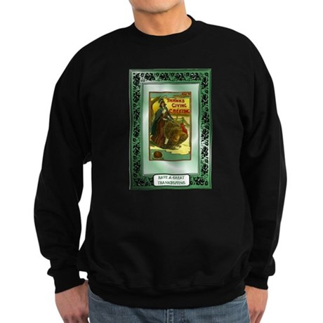 Thanksgiving Greetings Sweatshirt (dark)