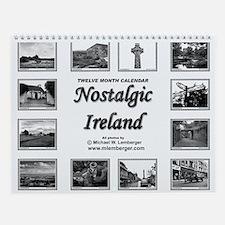 Nostalgic Ireland Wall Calendar