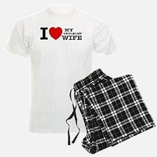 I love my Ukulelist wife Pajamas