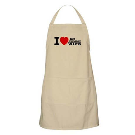 I love my Ukulelist wife Apron