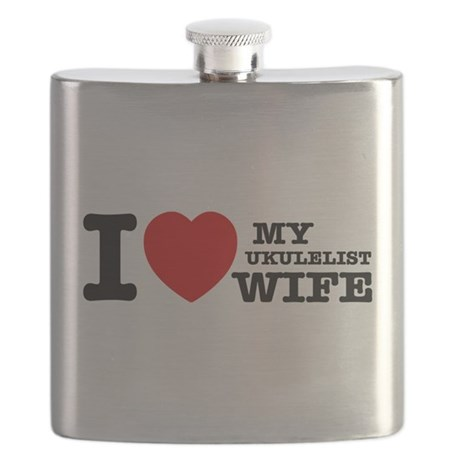 I love my Ukulelist wife Flask