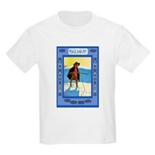 Fishing through the ice and snow T-Shirt
