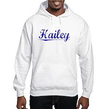 Hailey, Blue, Aged Jumper Hoody