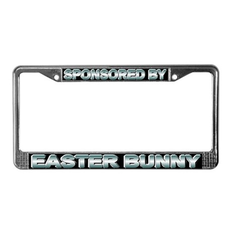 Sponsored by Easter Bunny License Plate Frame