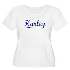Harley, Blue, Aged T-Shirt