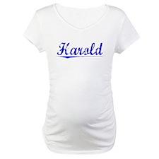 Harold, Blue, Aged Shirt