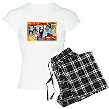 Bemidji Minnesota Greetings pajamas