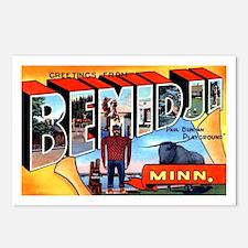 Bemidji Minnesota Greetings Postcards (Package of