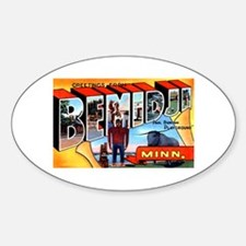 Bemidji Minnesota Greetings Bumper Stickers