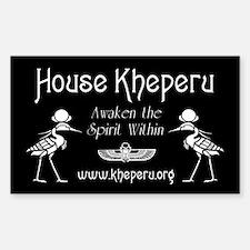 House Kheperu Decal