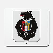 Khabarovsk Coat of Arms Mousepad