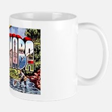 Escanaba Michigan Greetings Mug