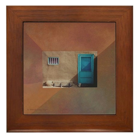 """Patch of Shade"" Framed Tile"