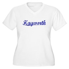 Hayworth, Blue, Aged T-Shirt
