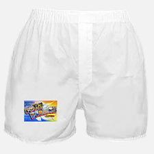 Fort Pierce Florida Greetings Boxer Shorts