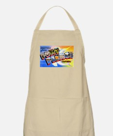 Fort Pierce Florida Greetings Apron
