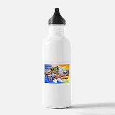 Fort Pierce Florida Greetings Water Bottle