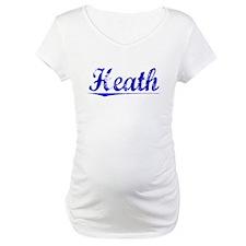 Heath, Blue, Aged Shirt