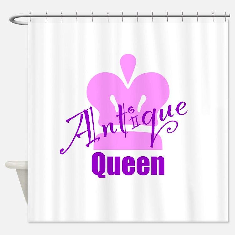 Antique Queen Shower Curtain