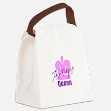 Antique Queen Canvas Lunch Bag