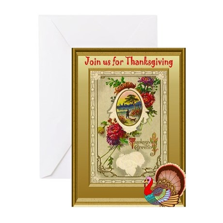 Join us for Thanksgiving Greeting Cards (Pk of 10)