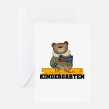 Bear Kindergarten Greeting Cards (Pk of 10)