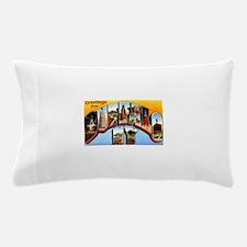 Buffalo New York Greetings Pillow Case