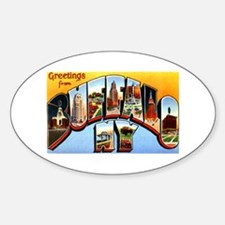 Buffalo New York Greetings Decal