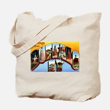 Buffalo New York Greetings Tote Bag