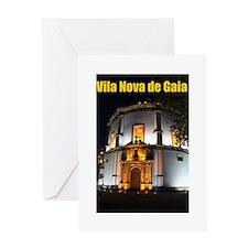 Serra do Pilar Night Greeting Card