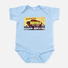 Buffalo New York Greetings Infant Bodysuit