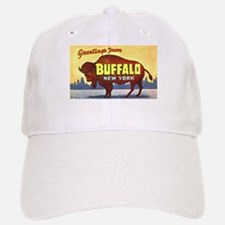 Buffalo New York Greetings Baseball Baseball Cap
