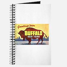 Buffalo New York Greetings Journal