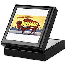 Buffalo New York Greetings Keepsake Box