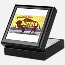 Buffalo New York Greetings Keepsake Box