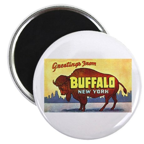 Buffalo New York Greetings Magnet